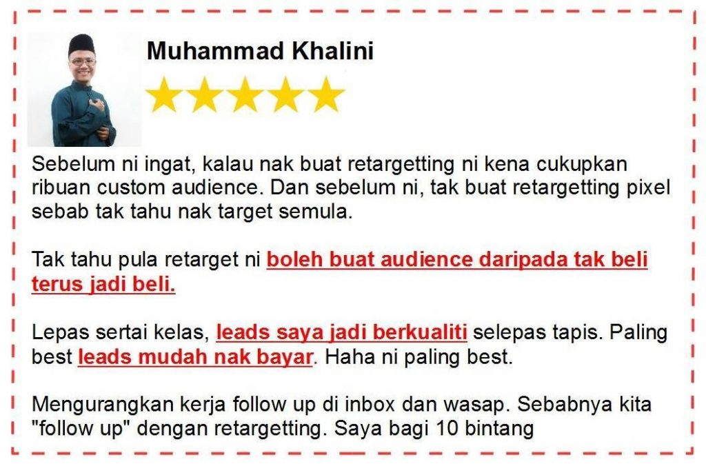 review fb ads retargeting 1