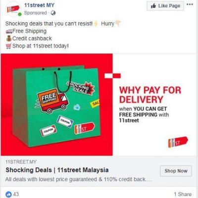 contoh iklan fb ads retargeting teknik saka